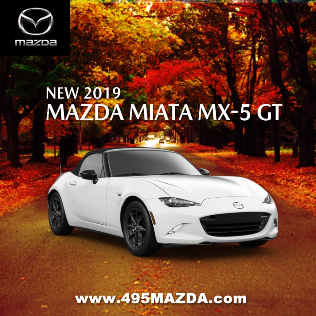 New 2019 Mazda MX-5 Miata Grand Touring RWD Convertible