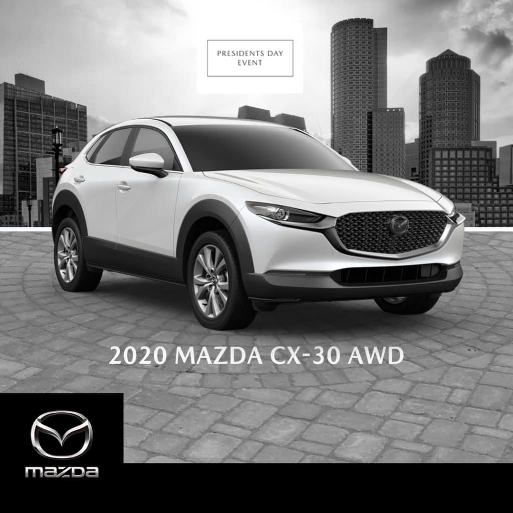 New 2020 Mazda CX-30 AWD