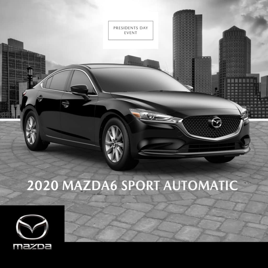 New 2020 Mazda6 Sport With Navigation