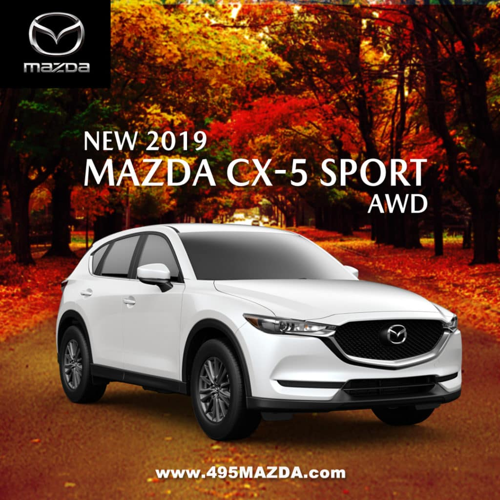 New 2019 Mazda CX-5 Sport AWD