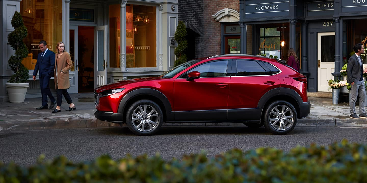 2020 mazda cx 30 side profile