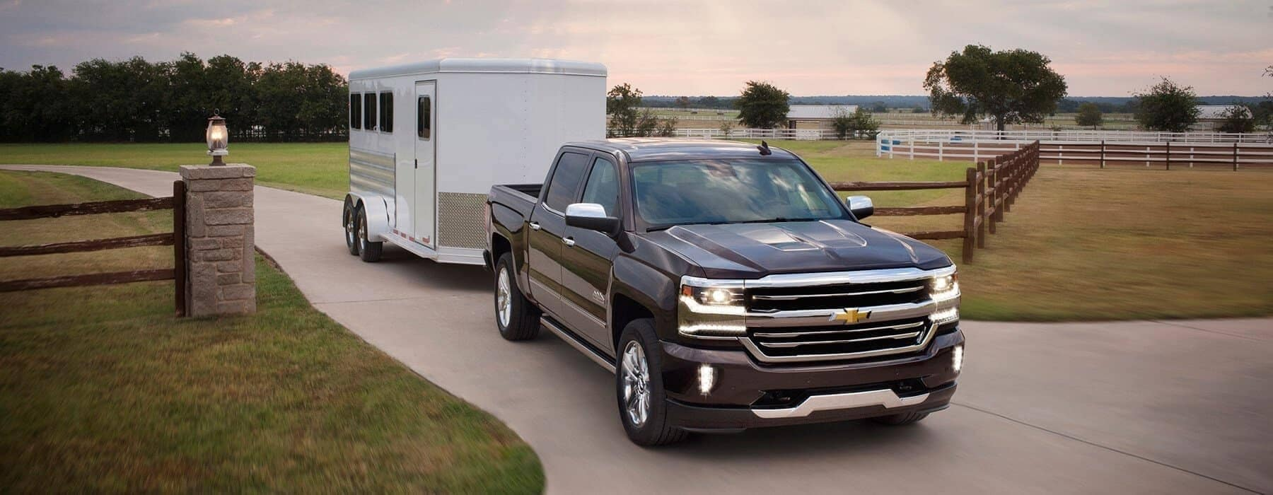 2019 Chevy Silverado 1500 Towing a Trailer