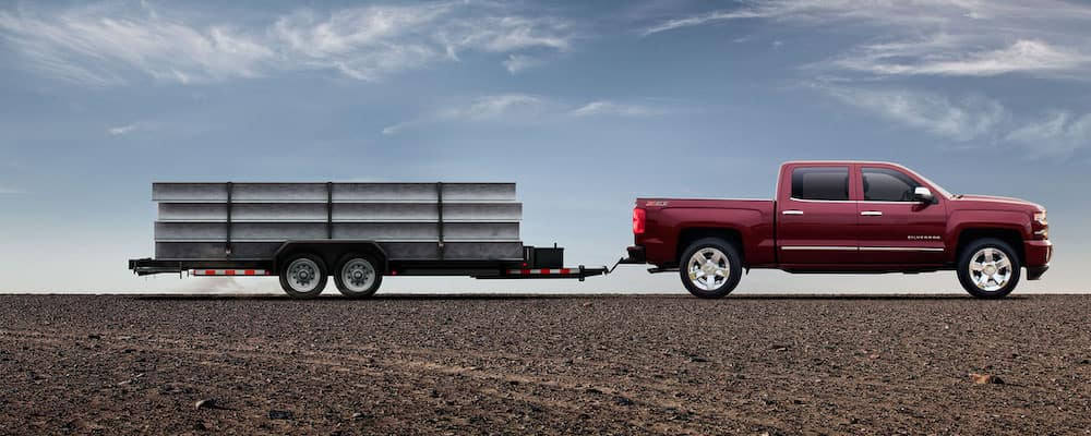 2019 Chevy Silverado Towing Trailer