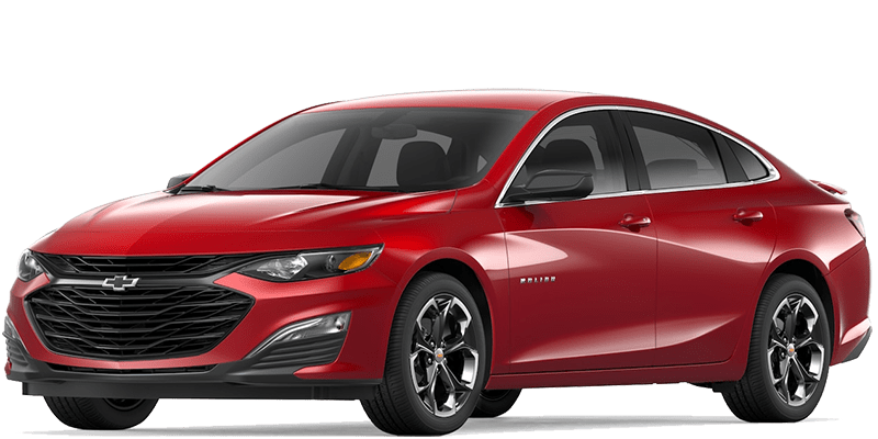 2019 Chevy Malibu Red