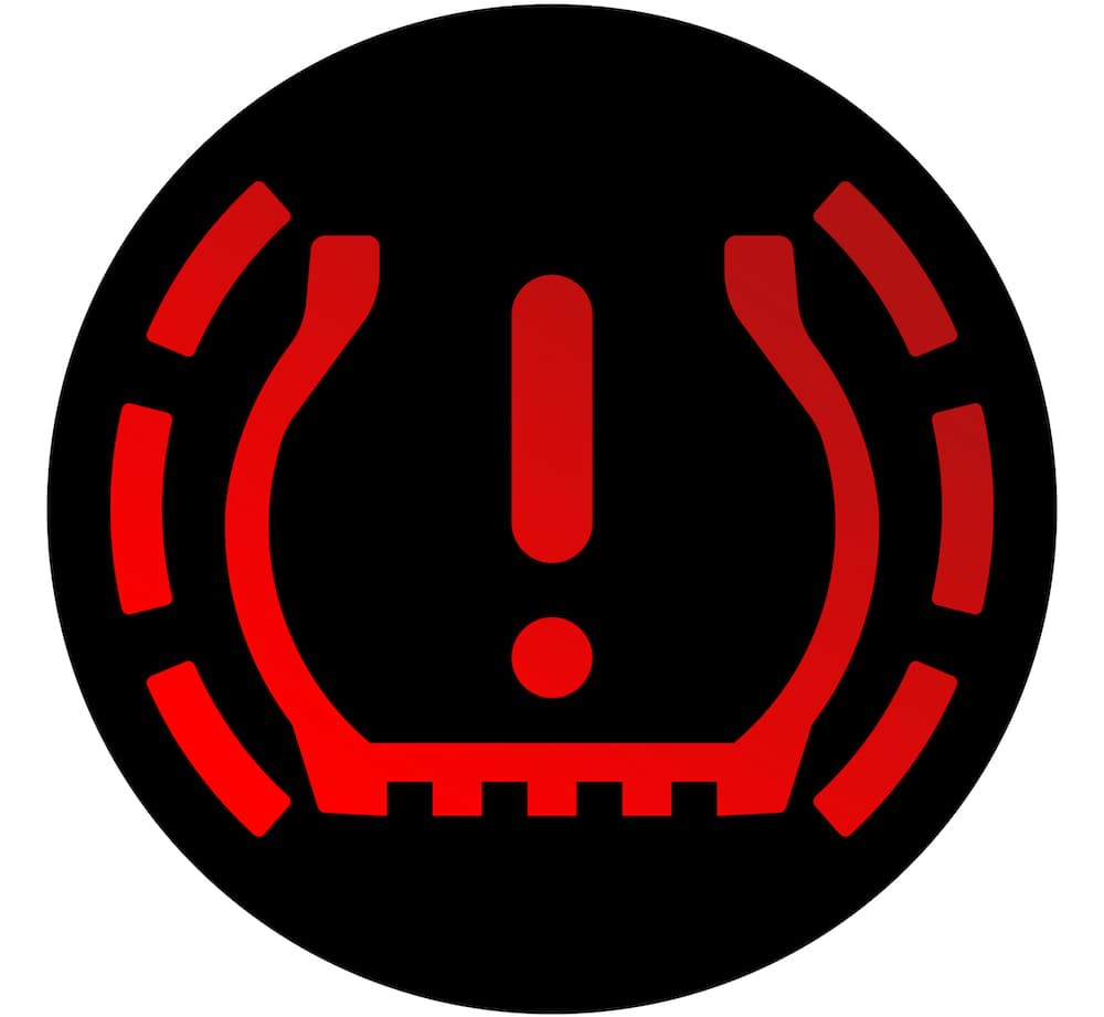 Red TPMS Light