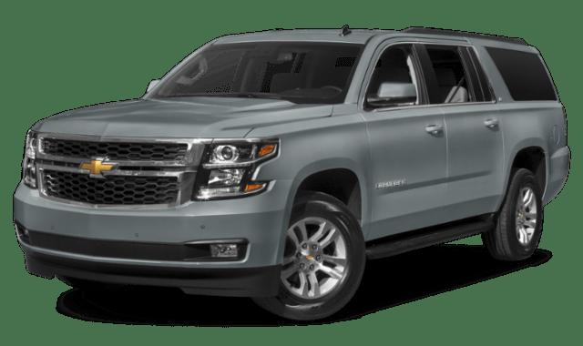 Blue Gray 2019 Chevy Suburban