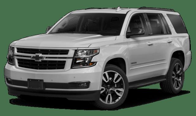 White 2019 Chevy Tahoe
