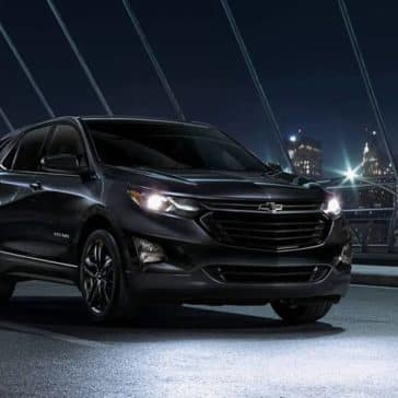 2020-Chevrolet Equinox At night