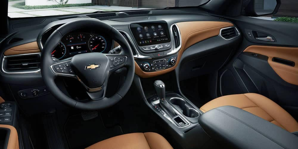 2020-Chevrolet Equinox Dash