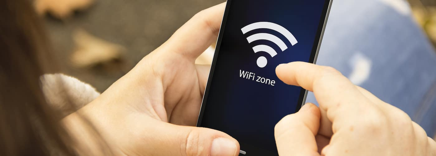 Accessing Wi-Fi on Smartphone