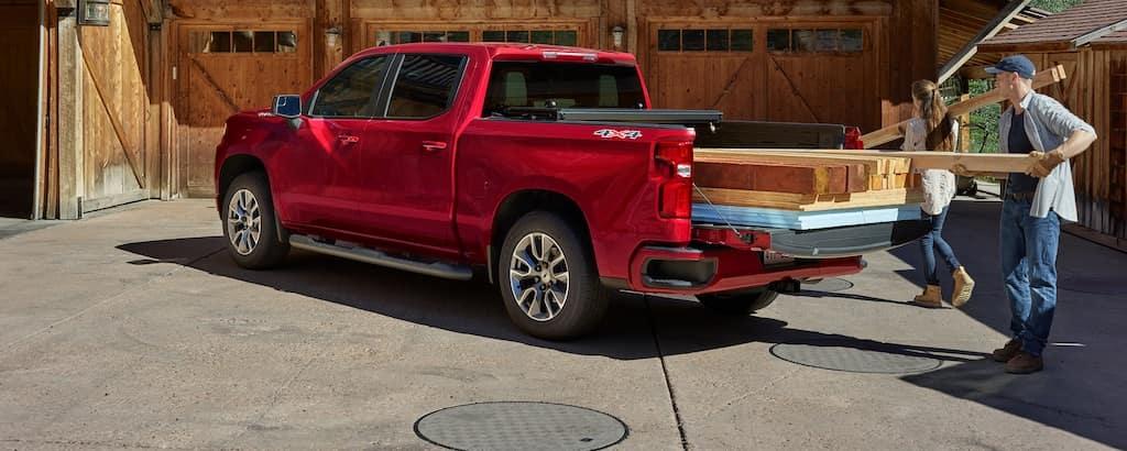 2020 Chevy Silverado 1500 Bed Size