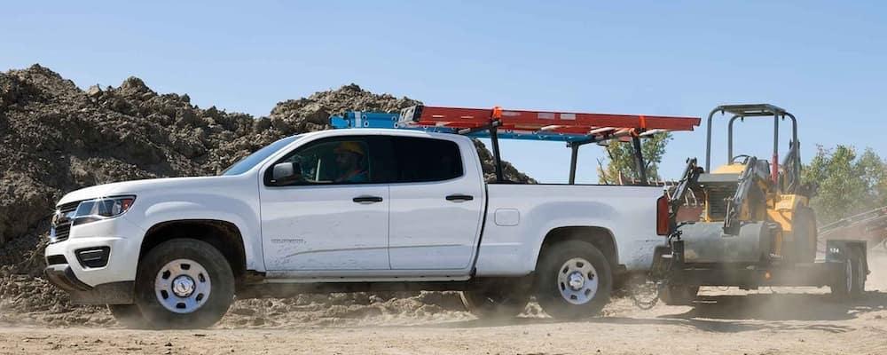 2020 Chevy Colorado Towing Construction Equipment