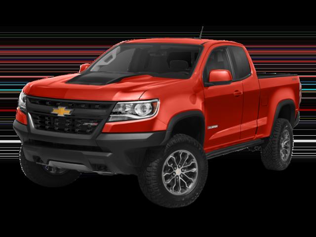 2019 Chevy Colorado red