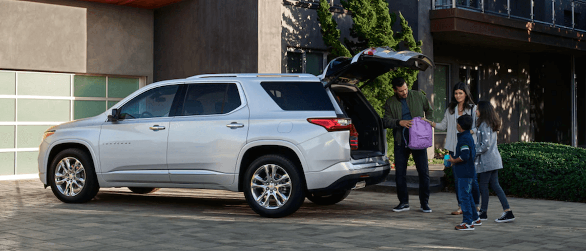 2021 Chevy Traverse Capability Banner