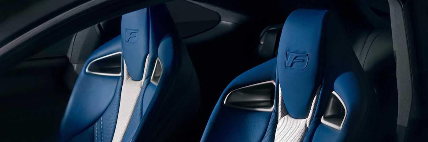 2018 Lexus RCF Seats