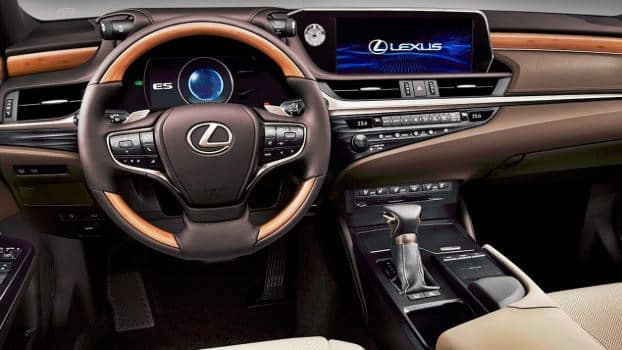 2019 Lexus ES 350 Interior Picture