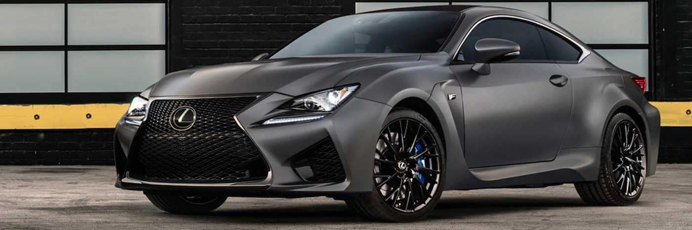 Limited Edition Rc F Coupe Pre Order Near Di Dealer Option City