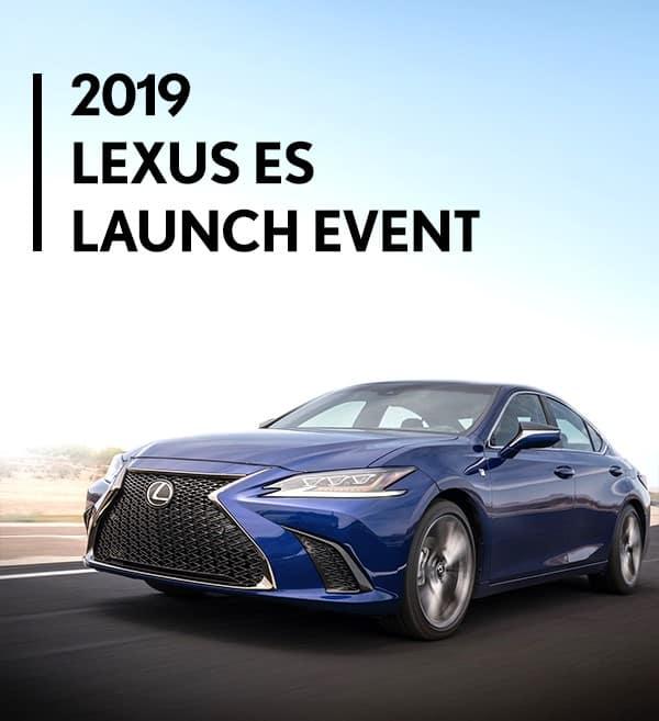 2019 Lexus ES Launch Event