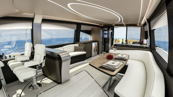 Lexus LY 650 Yacht Interior