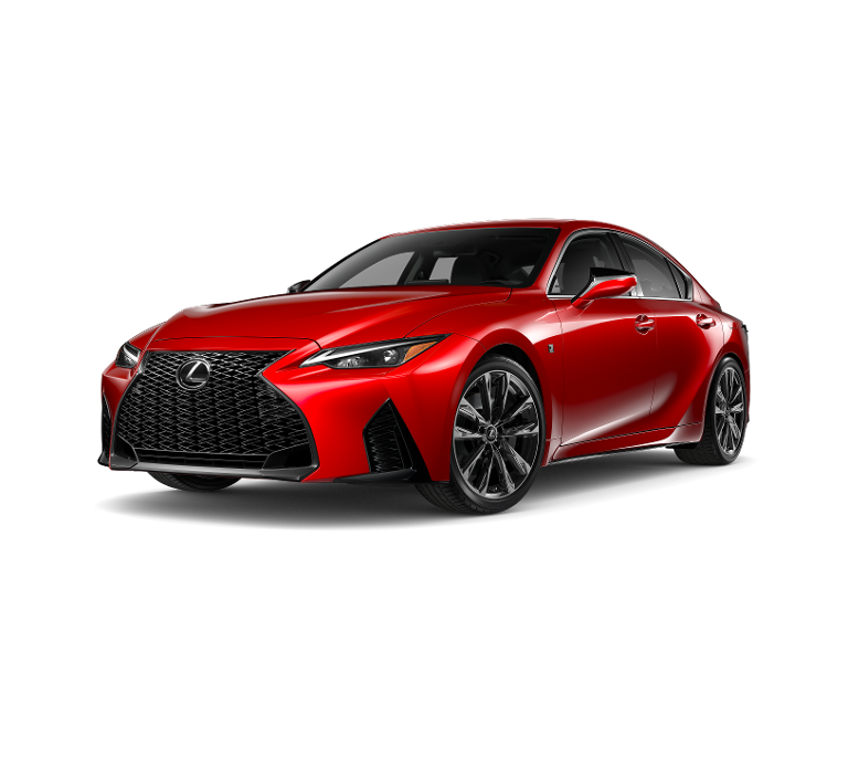 2021 IS 350 F Sport - Infrared - Half