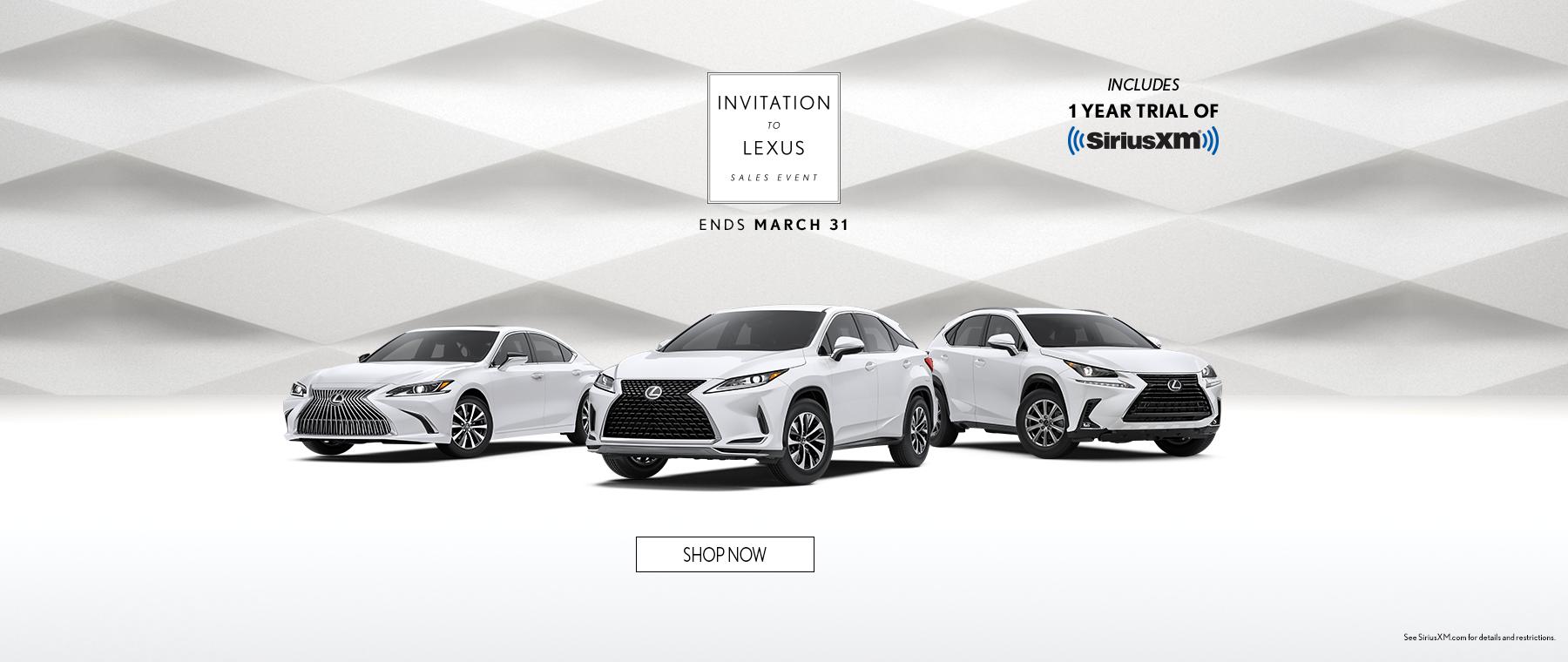 Invitation to Lexus 2021