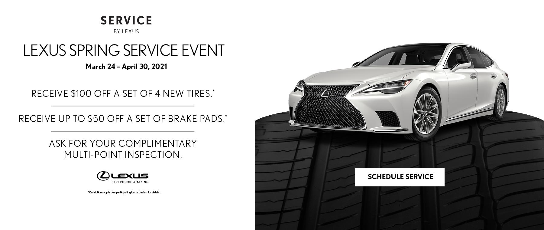 Lexus Spring Service Event