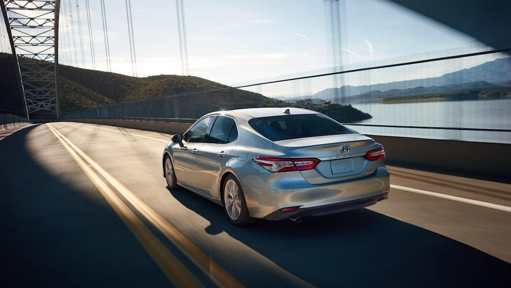 2019 Camry on the road