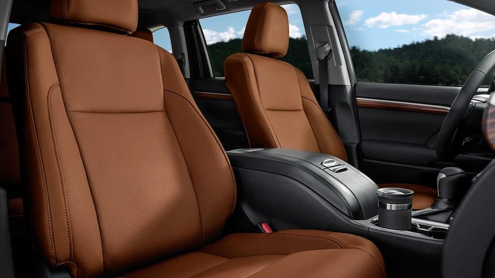 2019 Toyota Highlander seats
