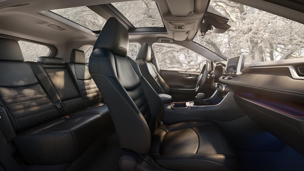 2019 Toyota Rav4 Interior Dimensions And Features Lone Star Toyota