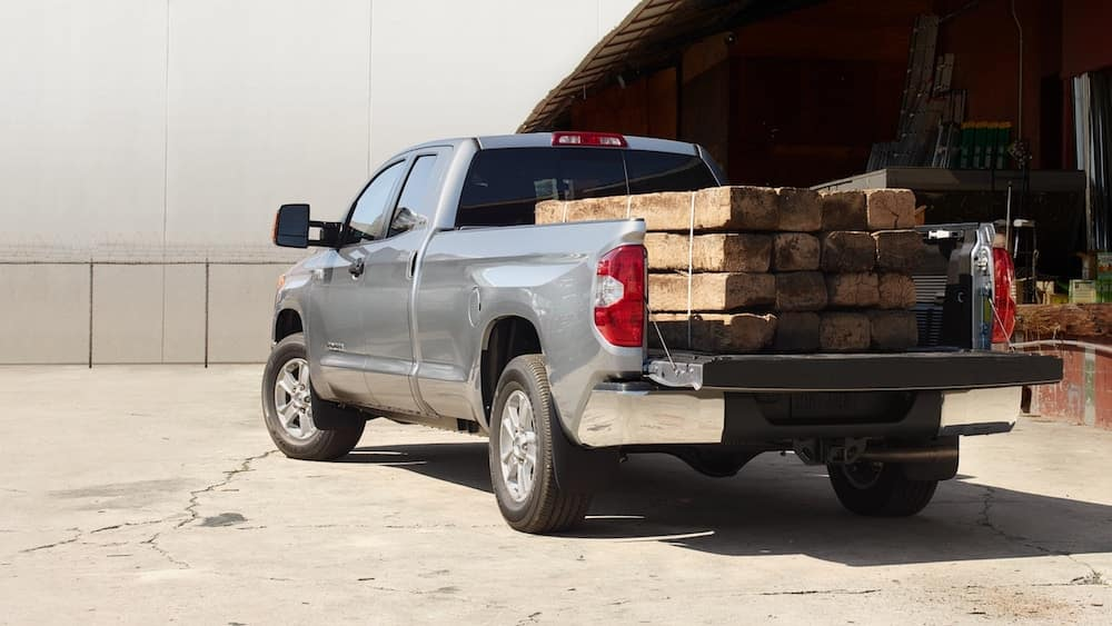 2019 Toyota Tundra with payload