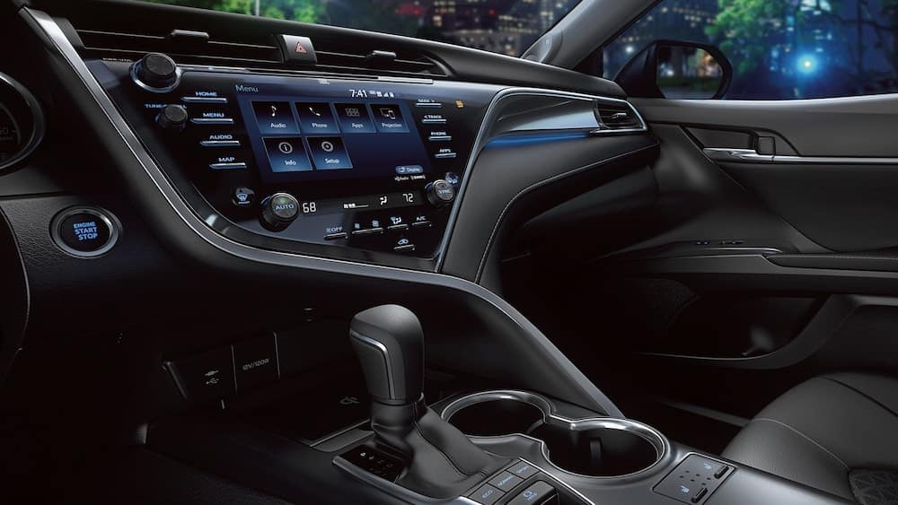 2019 Toyota Camry With Navigation Package