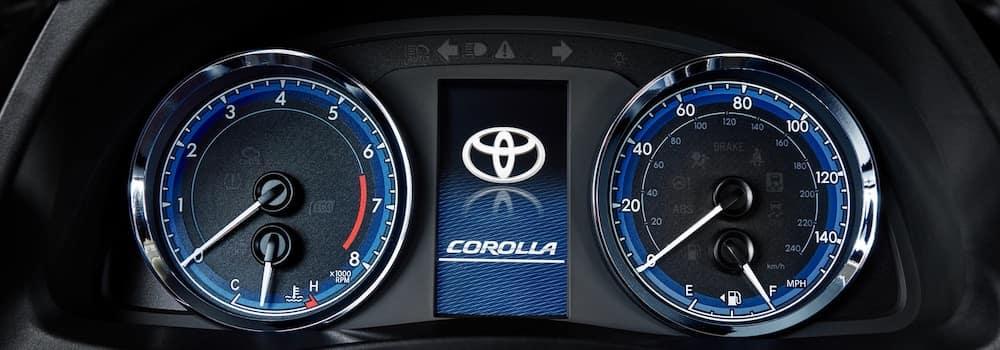 2019 Toyota Corolla Dashboard