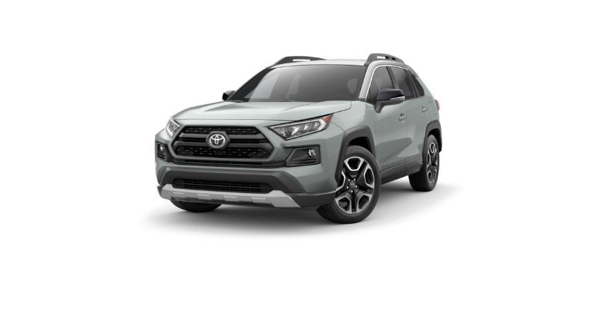 2019 RAV4 Lunar Rock With Ice Edge Roof