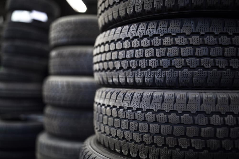 Tire stacks