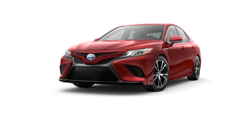 2019 Camry Supersonic Red