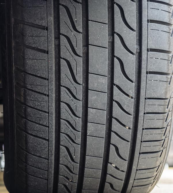 Tire tread detail