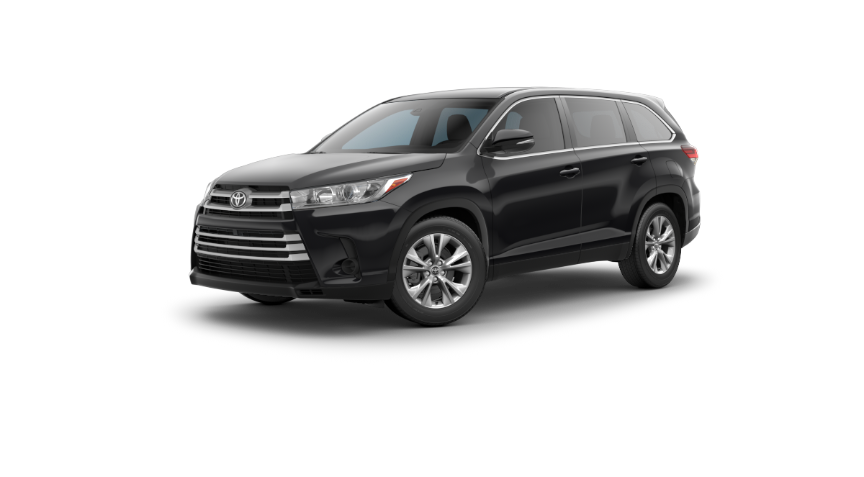2019 Toyota Highlander Colors Lone