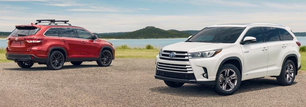 2019 Toyota Highlander Color Options