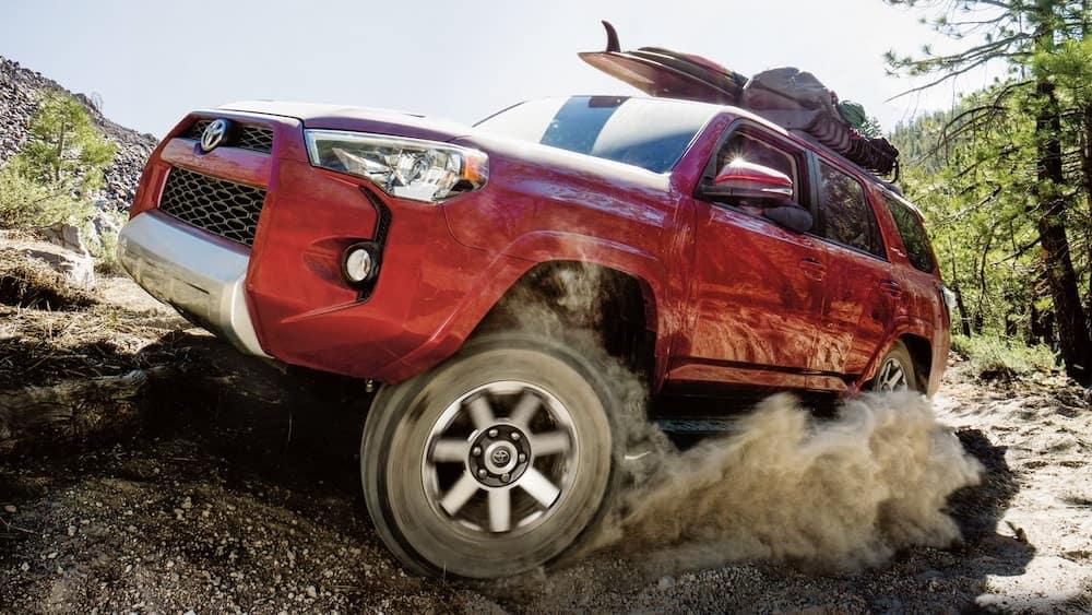2019 Toyota 4Runner off-roading