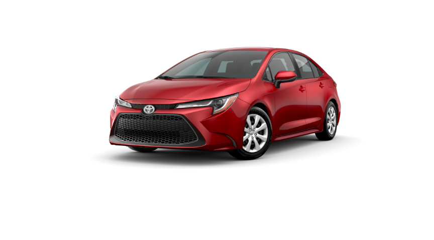 2020 Corolla Sedan - Barcelona Red Metallic
