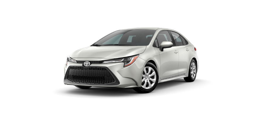 2020 Corolla Sedan - Blizzard Pearl
