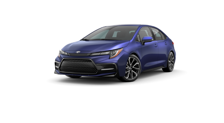 2020 Corolla Sedan - Blue Crush Metallic