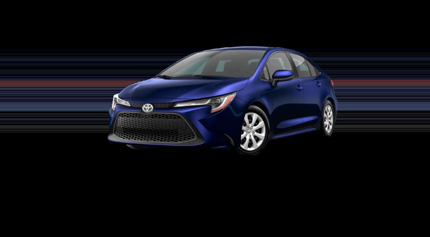 2020 Corolla Sedan - Blue Print