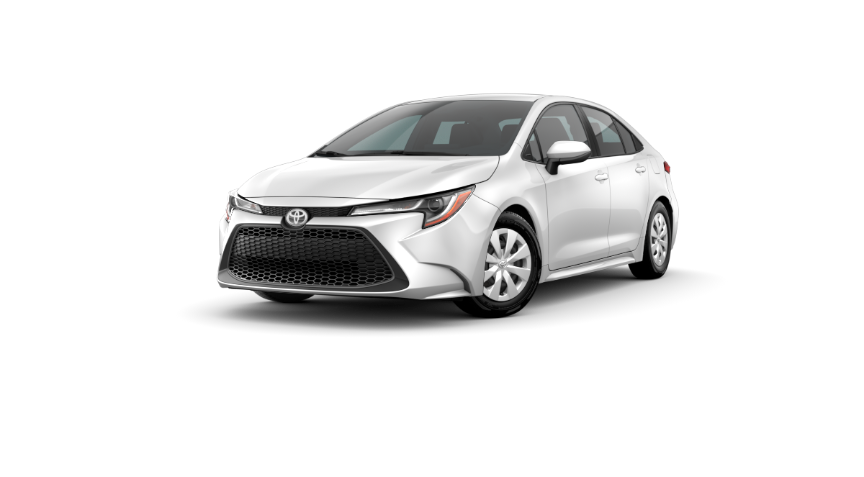 2020 Corolla Sedan - Super white
