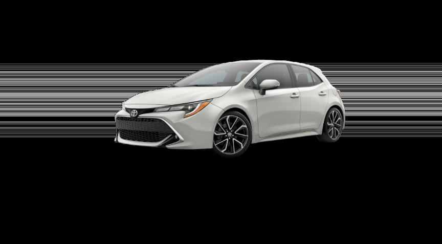 Corolla Hatchback - Blizzard Pearl