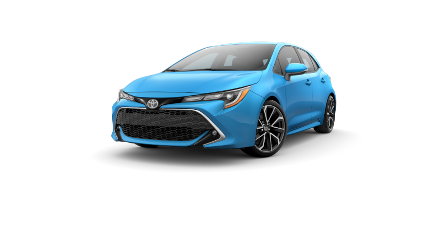Corolla Hatchback - Blue Flame