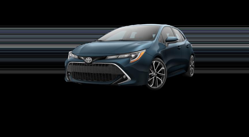 Corolla Hatchback - Galactic Aqua Mica
