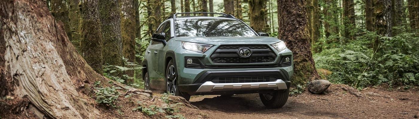2019 Toyota RAV4 on the trail