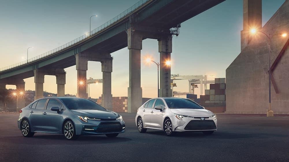2020 Corolla models