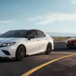 2020 Toyota Camry Configurations two models on highway
